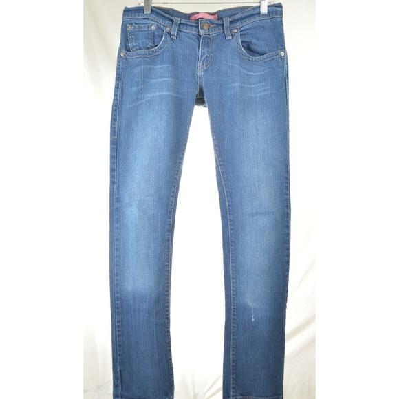 Levi's Denim - Levi 504 jeans 9 x 33 slouch skinny straight
